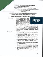 Kepdirjen 697k Tahun 1996-Penataan Batas Wilayah Pertambangan