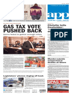 Asbury Park Press front page Thursday, Oct. 6 2016