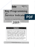 2009 Remote Key Programming