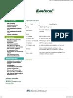 Sanferol Specifications Eisai