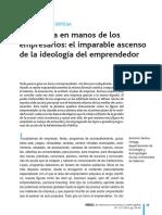 La Politica en Manos de Los Empresarios a Santos Ortega