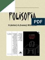 MURENA, H.A. - Folisofía