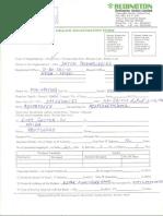 Redington Dealer Registration Form