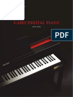 CASIOdigital Piano Catalog 2015 2016 En