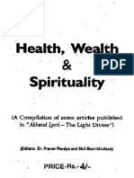 health wealth and spirituality akanda jyoti