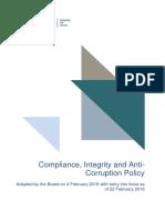 NIB Compliance Charter