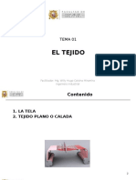2015-02 Tema 01 Tejido Plano - El Tejido