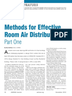 Methods for Effective Room Air Distribution, Part 1