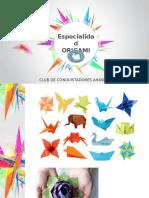 Especialidad de Origami 2015