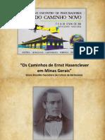 Os Caminhos de Ernst Hasenclever em Minas Gerais