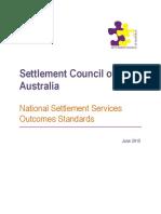 1506 National Settlement Standards