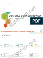 Quarterly Business Review PowerPoint Presentation Slides