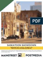 Mainstreet - Saskatoon Election Oct 6