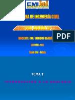 Geologia Tema 1 Introducción