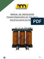 Manual Instalación Transformadores Tipo Seco en Resina