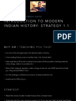 Introduction to Modern Indian History 1.1