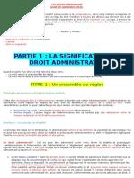 CM 1 Droit Administratif
