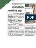 Interview L Decat - Nieuwsblad Westhoek