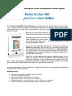 Press Release Livro Redes Sociais 360 - Vasco Marques