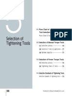 05 Selection of Tightening Tools