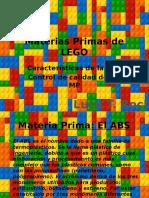 Presentacion Lego Materias Primas
