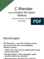 IBC Blender