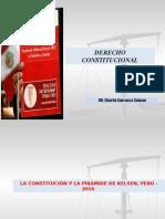 La Constitución y La Pirámide de Kelsen, Perú - 2016