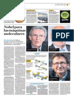 Nobel Para Las Máquinas Moleculares