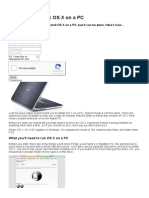 How to Run OS X on a PC - How to - Macworld UK