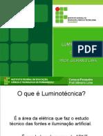 1. CONCEITOS de luminotécnica