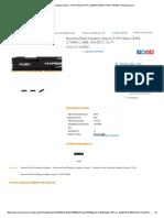 Memoria RAM Kingston HyperX FURY Black DDR4, 2133MHz, 8GB HX421C14FB_8 _ Cyberpuerta