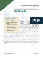 Resistors Module 02