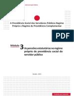 A Previdência Social dos Servidores Públicos - Modulo 3.pdf