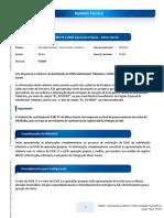 FIS BT Relatorio Restituicao de ICMS ST e ICMS Operacao Propria MG BRA