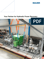 Sulzer - Your partner for hydraulic power recovery
