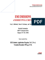 IEEE Industry Applications Magazine - EMI Emissions of Modern PWM AC Drives - Graphics