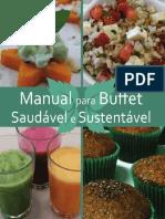 Manual Buffet Saudavel e Sustentavel