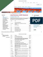 SSPC Standards List