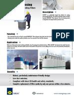 Catalogo filtros para silos