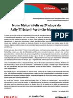 Press Nuno Matos 10.06.07 Etapa 2 Estoril-Marrakeche