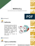 Modulo 9 - Uso de Botiquín de Primeros Auxilios