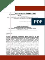Articulo de Revision Artristris Reumatoide a.r