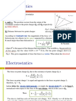 Class 6-7 Electrostatics