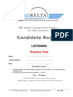 ATC Practice Listening Test Generic Candidate Booklet