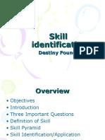 Skill Identification DF