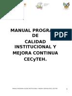 Manual Imagen Institucional Cecyteh