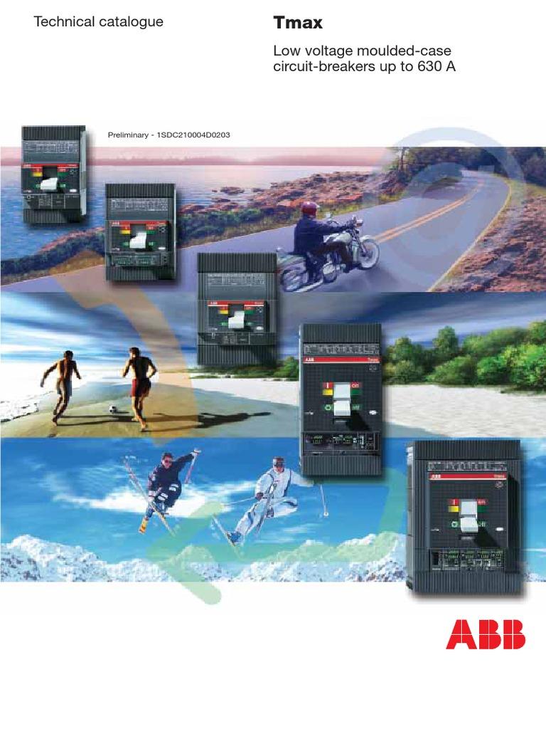 ABB - TMAX circuit breakers 630A generale pdf | Alternating