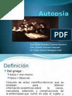 Historia de La Autopsia
