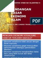 Materi Syariah 9. Pandangan Dasar Sistem Ekonomi Islam