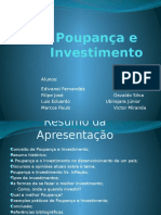 Poupança e Investimentos